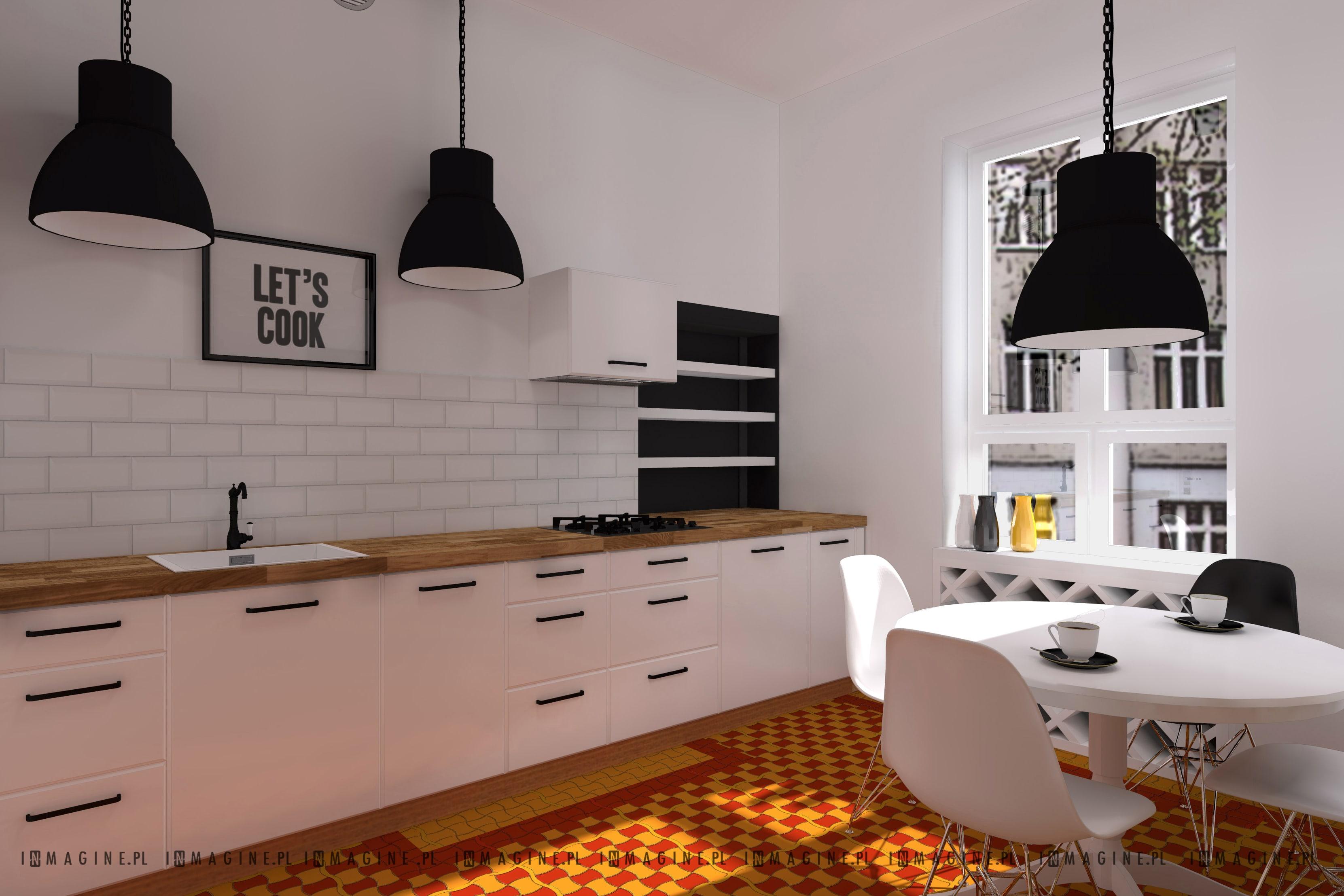 Kuchnia W Starej Kamienicy Architekt Wnętrz Projektant Wnętrz