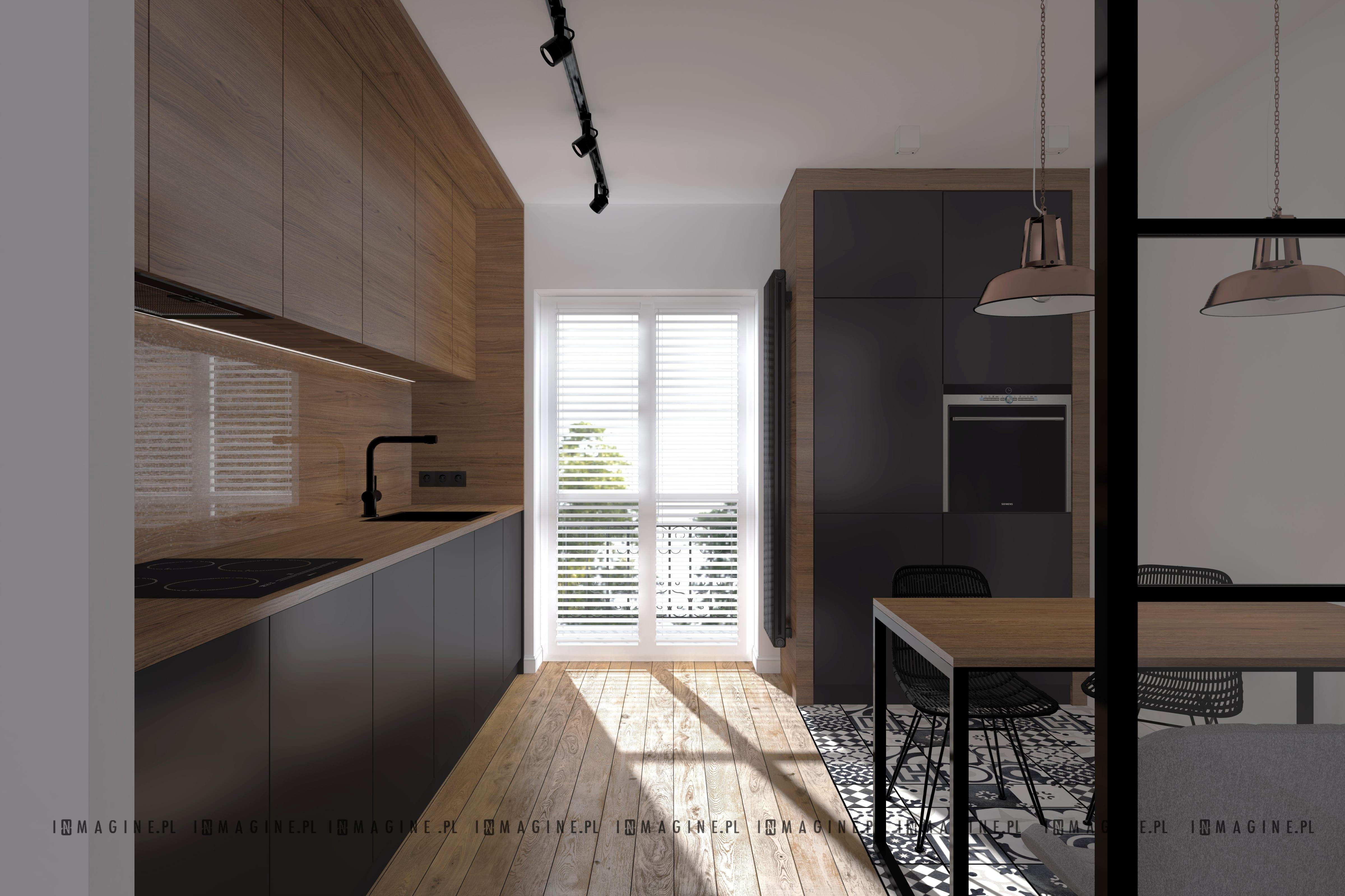 Kuchnia Dom Pod Warszawa Architekt Wnetrz Projektant Wnetrz
